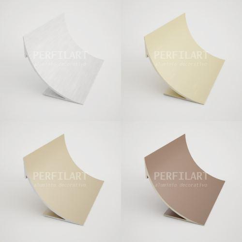 Perfiles de aluminio perfiles anodizados for Zocalos de madera para pisos