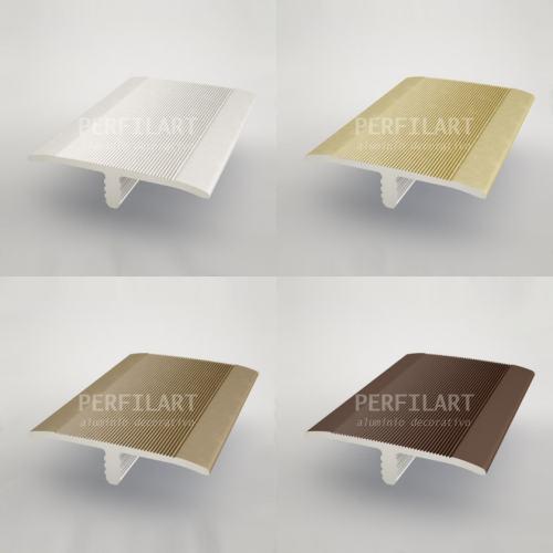 Perfiles de aluminio perfiles anodizados for Colores de perfiles de aluminio